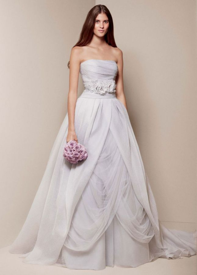Textured Organza Wedding Ball Gown Vera Wang