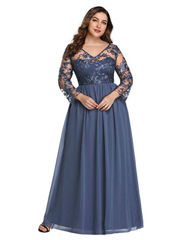 Wedding Guest Dress for Plus Size Womens