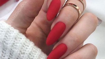 Wedding Nail Ideas Ellegant Matte Love Nails