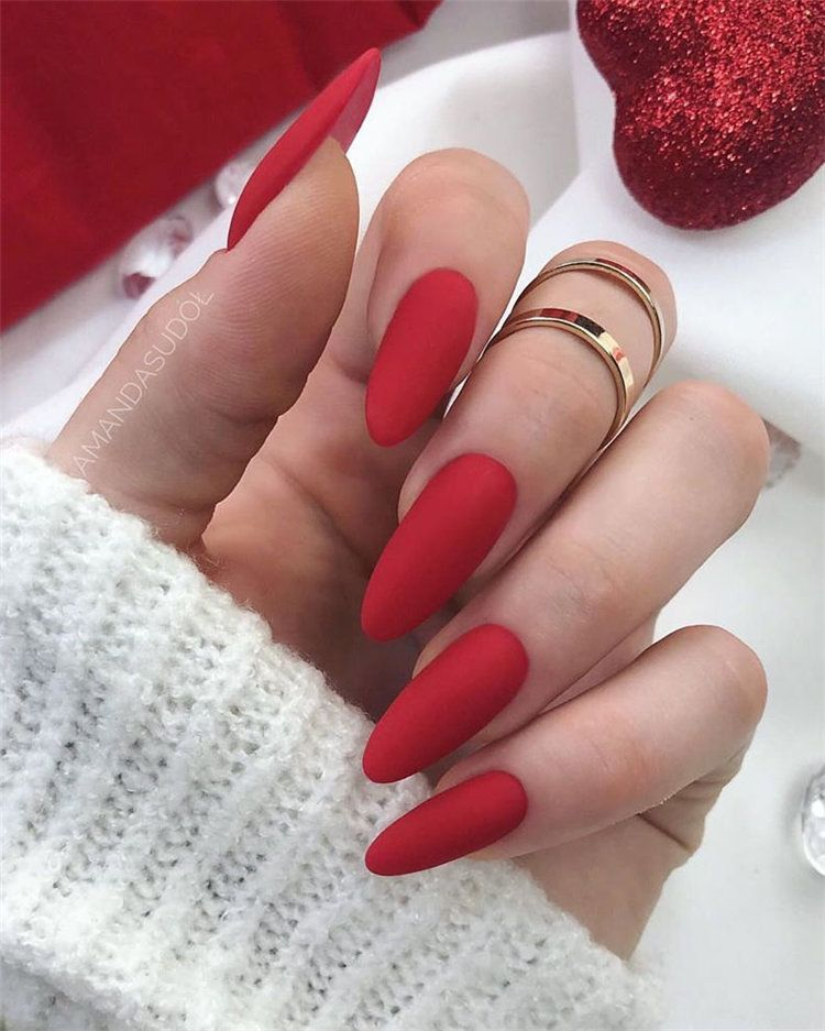 Wedding Nail Ideas Ellegant Matte Love Nails