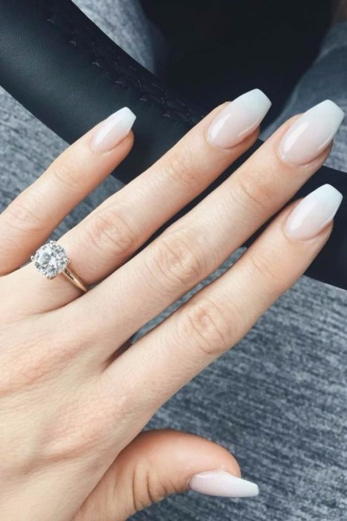 Wedding Nail Ideas French Nail Wedding