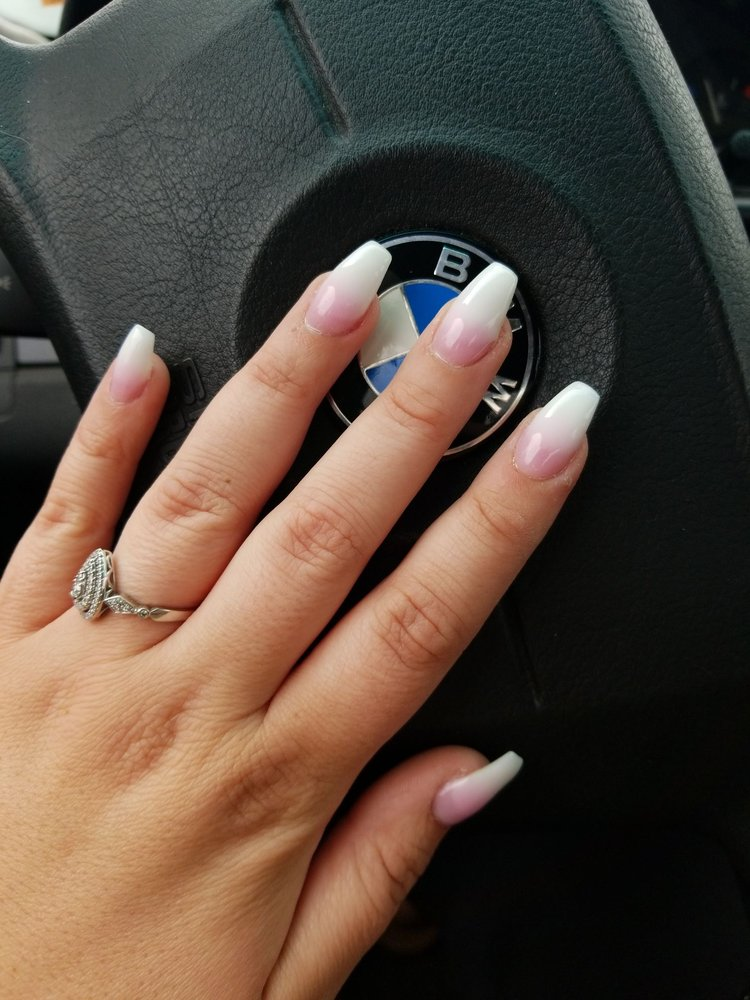 Wedding Nail Ideas French Ombre Nails