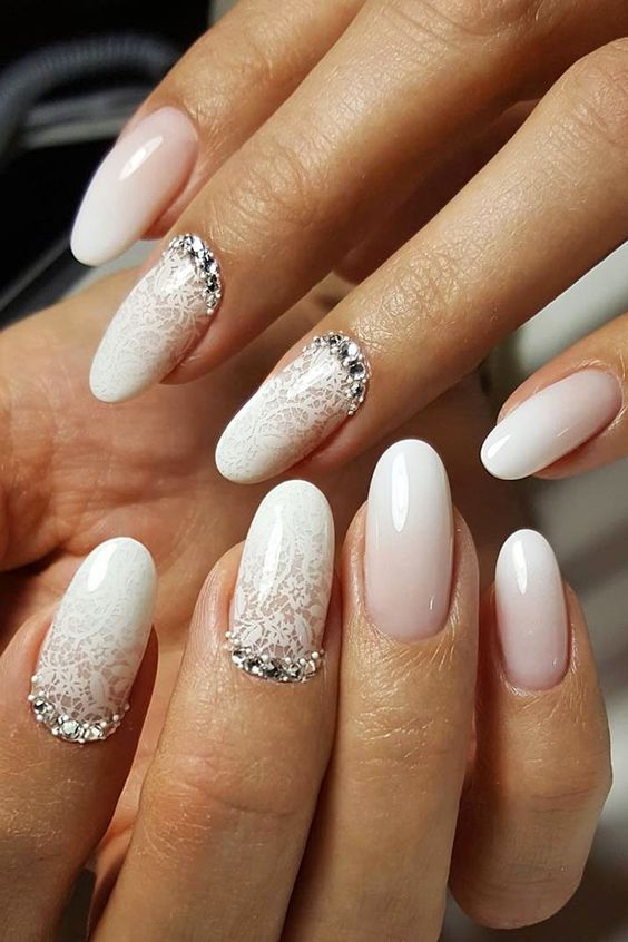 Wedding Nails for Bride Classy