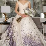 5 Great Combination of Purple Wedding Dress