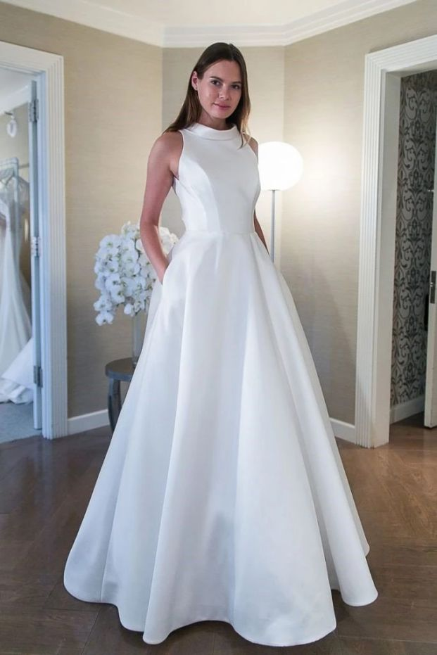 White Wedding Dresses Elegant